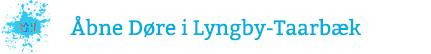 Åbne døre i Lyngby-Taarbæk Logo